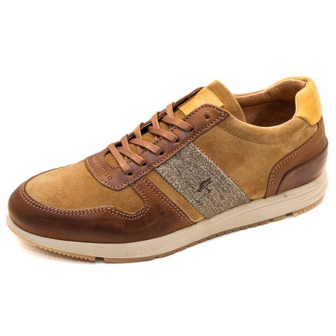 FYNCH-HATTON barna bőr sportcipő